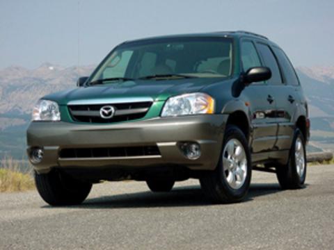 Защита передних фар позрачная Mazda Tribute 2001- (223020)