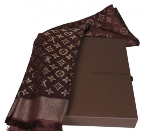 Шарф Louis Vuitton (Коричневый)