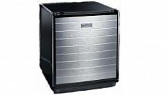Минихолодильник Dometic miniCool DS600ALU, 53 л, цв. черный, с-ма Fuzzy Logic, дверь прав. декор. аллюминий, пит. 220В