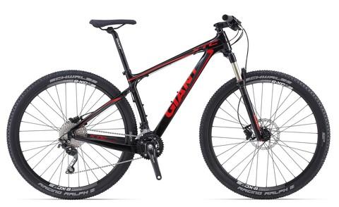 Giant XTC Composite 29er 2 (2014) черный с красным