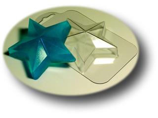 Звезда  Форма для мыла