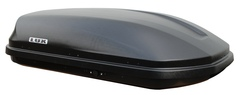 Бокс на крышу LUX 600 440л чёрный металлик