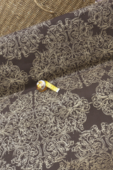 Ткань безусадочный лен, рисунок: византийский