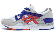 Кроссовки мужские Asics GEL LYTE V Grey White Red Blue