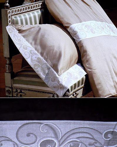 Комплекты Постельное белье 2 спальное Cassera Casa Alice бежевое komplekt-elitnogo-postelnogo-belya-alice-ot-cassera-casa-italiya.jpg