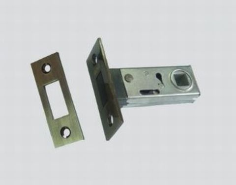 Фурнитура - Защёлка Межкомнатная магнитная Renz Magn 5-50, цвет хром блестящий