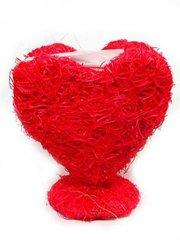 Кашпо сердце