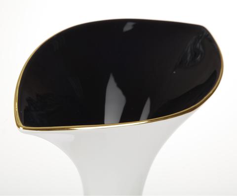 Элитная ваза декоративная Lushe белая малая от Antonio Rosa