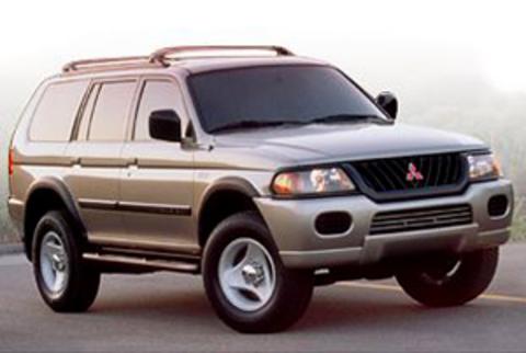 Защита передних фар прозрачная Mitsubishi Pajero Sport 2000- (226120)