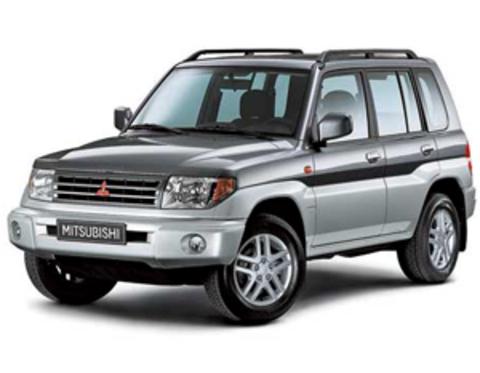 Защита передних фар прозрачная Mitsubishi Pinin 1999- (226090)