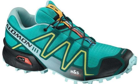 Кроссовки Salomon Speedcross 3 green-yellow