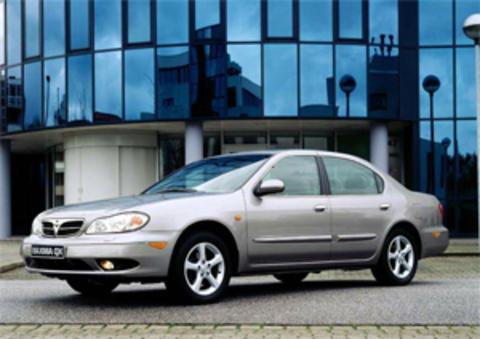 Защита передних фар прозрачная Nissan Maxima (QX) 2000- (EGR3460)