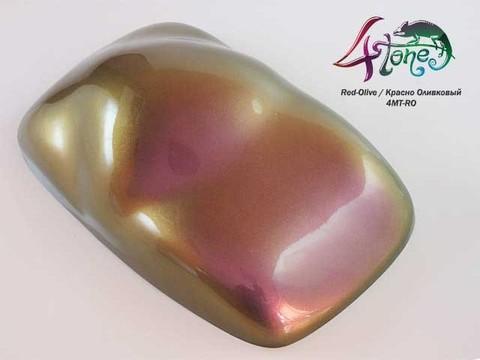 Краска BUGTONE 4Tone Red-Olive хамелеон красно-оливковый средняя зернистость,укрывист.120мл