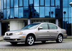 Защита передних фар карбон Nissan Maxima (QX) 2000- (EGR3460CF)
