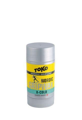 мазь лыжная Toko Nordic GripWax X-Cold (-12°/-30°С, 25 гр.)