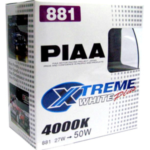 Галогенные лампы PIAA H27W/2 (881) H-560E (4000K)