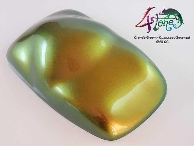 Краска Bugtone 4Tone Orange-Green хамелеон оранжево-зеленый средняя зернистость, укрывист, 120 мл