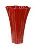 Элитная ваза декоративная Red Passion волнистая высокая от Sporvil