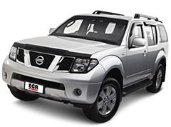 Защита передних фар прозрачная Nissan Pathfinder 2005- (227150)