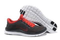 Кроссовки женские Nike Free Run 3.0 V5 Black Red