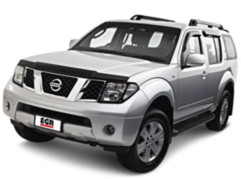 Защита передних фар карбон Nissan Pathfinder 2005- (227150CF)