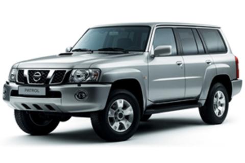 Защита передних фар карбон Nissan Patrol 2004- (227140CF)