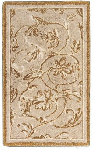 Элитный коврик для ванной Dynasty 770 бежевый с золотом от Abyss & Habidecor
