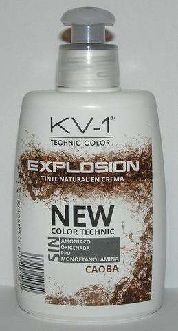 Tinte Explosion Caoba- тонирующая маска для волос. Глубокое красное дерево: