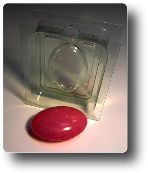 Овал форма для мыла 3D (сторона A)