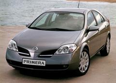 Защита передних фар карбон Nissan Primera 2002- (EGR 3440CF)