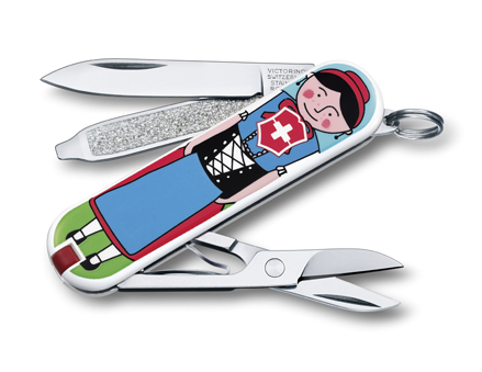 "Нож-брелок Victorinox Classic LE 2014, 58 мм, 7 функ, ""Appenzeller""  (0.6223.L1401)"