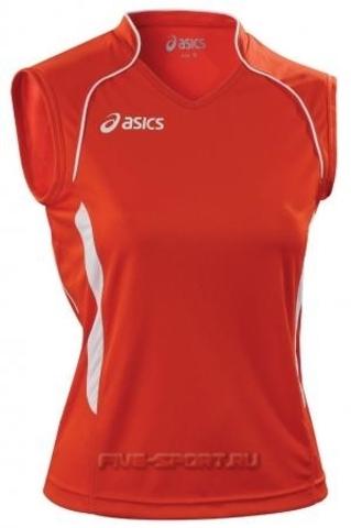 Asics Singlet Aruba футболка волейбольная женская red
