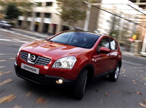 Защита передних фар прозрачная Nissan Qashqai 2007- (227180)