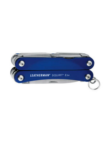 Мультитул Leatherman Squirt ES4 синий (подарочная упаковка)
