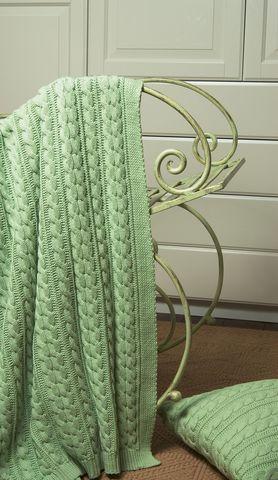 Плед детский 100х150 Luxberry Imperio 36 зелёный