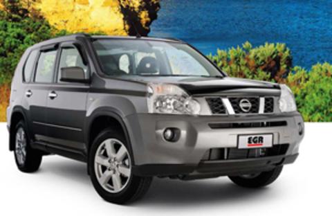 Защита передних фар прозрачная Nissan X-Trail 2007 (227180)