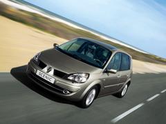 Защита передних фар прозрачная Renault Scenic 2005- (EGR-4236)