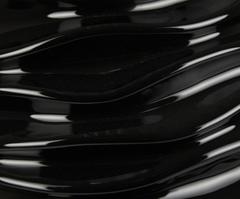 Элитная ваза декоративная напольная Vespiary чёрная от Sporvil