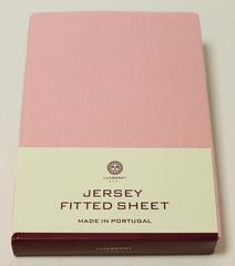 Элитная простыня детская на резинке розовая от Luxberry