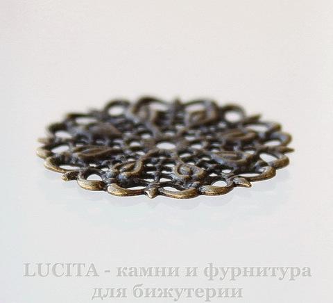 Филигрань 25 мм (цвет - античная бронза) ()