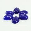 Кабошон овальный Жадеит синий (тониров), 18х13 мм ()