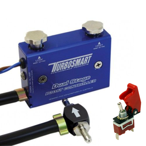 Буст контроллер Turbosmart Dual Stage Boost Controller синий