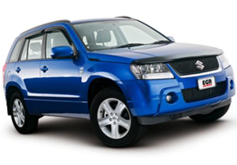 Защита передних фар прозрачная Suzuki Grand Vitara 2005- (238090)