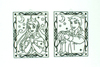 1584 Витражи (2 шт.)