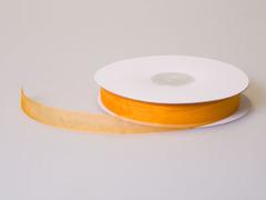 Лента органза 1,3см*45м оранжевый