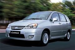 Защита передних фар позрачная Suzuki Liana 2001- (EGR6307)