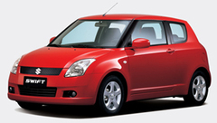 Защита передних фар позрачная Suzuki Swift 2005- (EGR-6309)