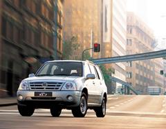Защита передних фар позрачная Suzuki XL 7 2003- (238070)