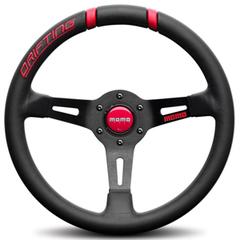 Руль MOMO Drifting 32 (красные вставки)