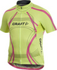 Велофутболка Craft Performance Tour мужская желтая